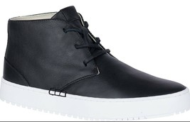Sperry Top-Sider Women's Endeavor Black Leather Chukka Boot Sneaker Shoes NIB