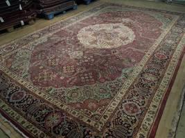 Compex Design Original Red Traditional Persian Wool Handmade Rug 10x16 Rug image 5