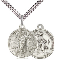Saint Roch Patronage Against Plagues - Sterling Silver - $82.99
