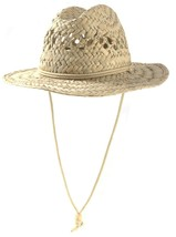 Pistil 2321P Men's Epic Handmade Papyrus Straw Sun Hat With Chin Strap - $49.99