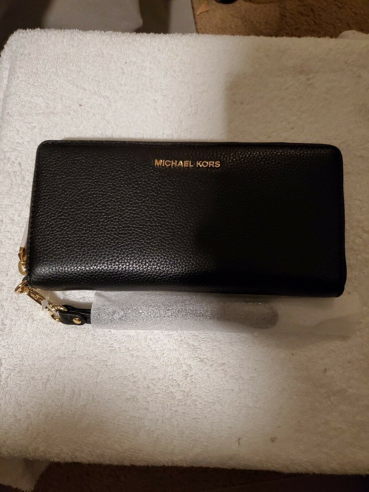 Primary image for  MICHAEL Michael Kors Women's Mercer Continental Wallet, Black - NWT