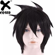 Anime Fairy Tail Grey Cosplay Hair Props Personality Short Hair Costume - $61.20