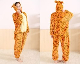 Unisex Adult Pajamas Kigurumi Cosplay Costume Animal Onesie Sleepwear Ti... - $35.99