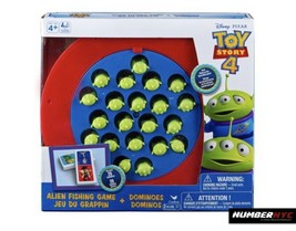 2 in 1 Kids Games Disney Pixar Toy Story 4 ALIEN FISHING Motorized & DOM... - $23.75