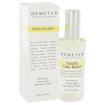Demeter Vanilla Cake Batter by Demeter Cologne Spray 4 oz - $35.00
