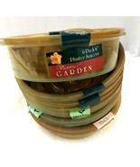 AS IS Lot Of 37 Plastic Plant Liners And Saucers - $29.70