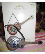 HALLMARK 2011 TOBY KEITH ROCKIN' AROUND THE CHRISTMAS TREE GUITAR ORNAME... - $22.95