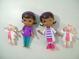 DISNEY DOC MCSTUFFINS MINI DOLL FIGURES DENTIST LAMBIE PVC FIGURE - $14.65