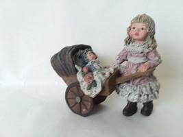Sarah's Attic Emily May 1991 Baby Carriage Sample - Broken - $7.42