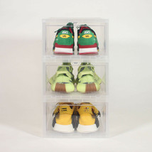 The Container Store - Large Drop-Front Shoe/Sneaker Box - Case of 3 - $31.99