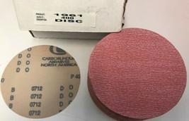 """Carborundum 1961 6"""" 400 Grit Sanding Discs 100 Pack - $9.41"""