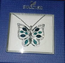 NEW IN BOX Swarovski Butterfly Crystal Necklace 5227313 Necklace - $152.99