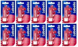 10x Labello Nivea Fruity Cherry Shine Liposan Caring Lip Balm 10x5.5ml F... - $29.80