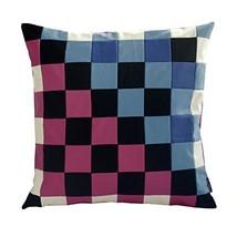 [Warm & Cold] Handmade Unique Grid Decorative Pillowcase 48CM - $21.16