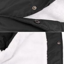 Men's Windbreaker Lightweight Waterproof Sherpa Button Up Athletic Coach Jacket image 13
