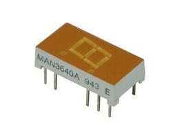 MAN3640A, LED, Orange, 7-Segment,  - $6.64