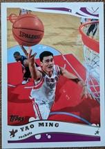 Yao Ming 3rd Year Card (2005) - Topps 11 - $4.00