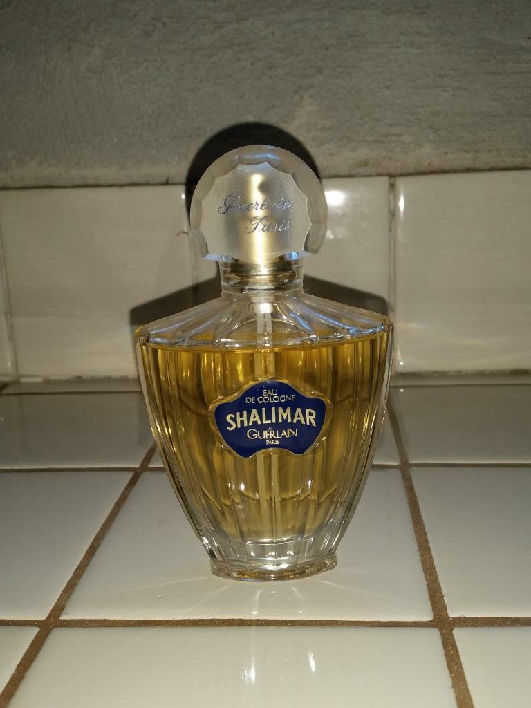 Primary image for SHALIMAR Eau De Cologne Guerlain Paris Used Spray Vintage 75ml 2.5floz