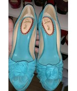 Christian Louboutin 20th Anniversary Lady Gres turquoise 160mm  - $850.00