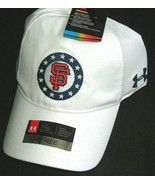 NWT Under Armour Free Mens OSFA USA Flag Military Freedom UA Giants Hat ... - $13.84