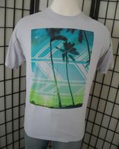 Hang Ten colorful Palm Trees on a thin cotton tee shirt 2xl xxl - $19.95