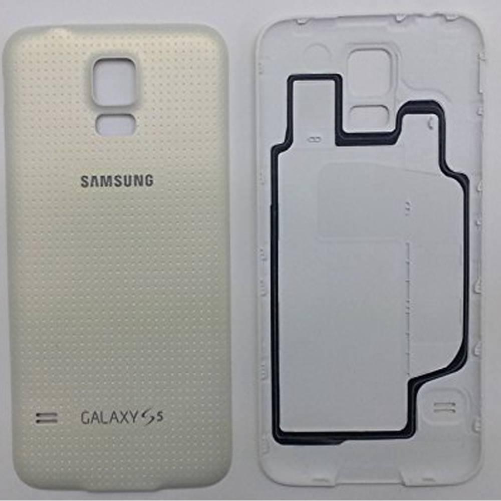 ORIGINAL Battery Back Door Cover Samsung Galaxy S5 i9600 G900P G900T G900V White