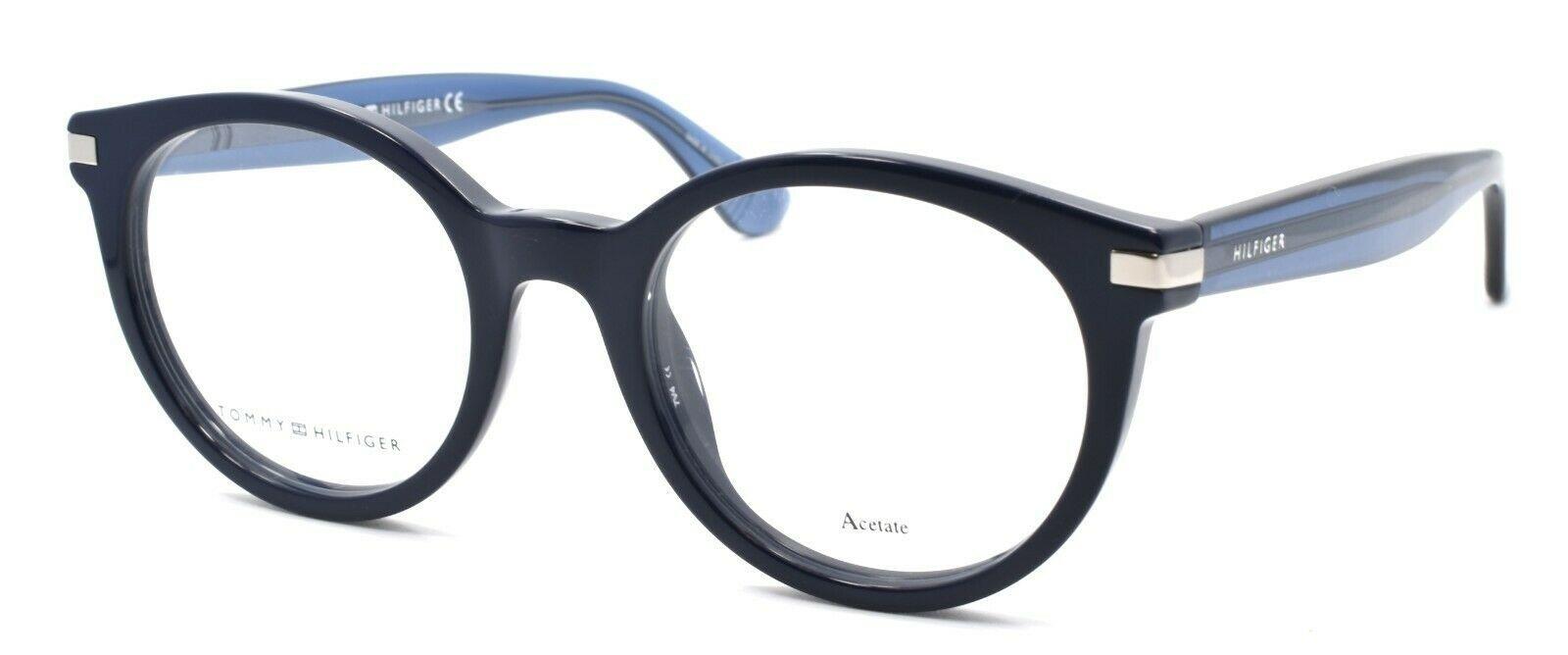 TOMMY HILFIGER TH 1518 PJP Women's Eyeglasses Frames 48-20-140 Blue - $98.80
