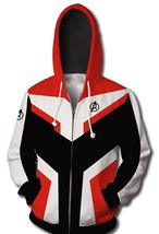 BRAND NEW MENS AVENGERS END GAME FLEECE HOODIE JACKET - WORLDWIDE SHIPPING - $69.99
