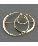 """Tom Kruskal New England Hand Forged 14K Gold """"Soap Bubble"""" Pin 1-1/8"""" x ... - $189.99"""