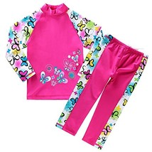 BAOHULU Girls Swimsuit UPF 50+ UV Protective 3-12 Years 11-12YTag.No 14A... - $25.19