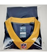 "LA Rams NFL PLAYERS NIKE ""ON FIELD"" Jersey #16 QB GOFF-XL-Blue & Gold-NEW - $48.69"