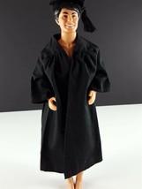 Ken 795 Graduation Gown Black Gown w/Cap Original 1963 Clothing - $14.84