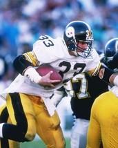MERRIL HOGE 8X10 PHOTO PITTSBURGH STEELERS NFL FOOTBALL VS CHARGERS - $3.95