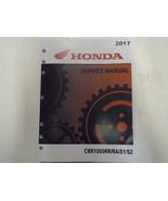 2017 2018 2019 HONDA CBR1000 RR RA S1 S2 CBR1000RR/RA/S1/S2 Service Shop... - $108.90