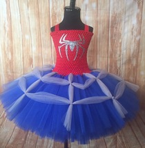 Spider-Man Tutu Dress, Girls Spider-Man Costume - $40.00+