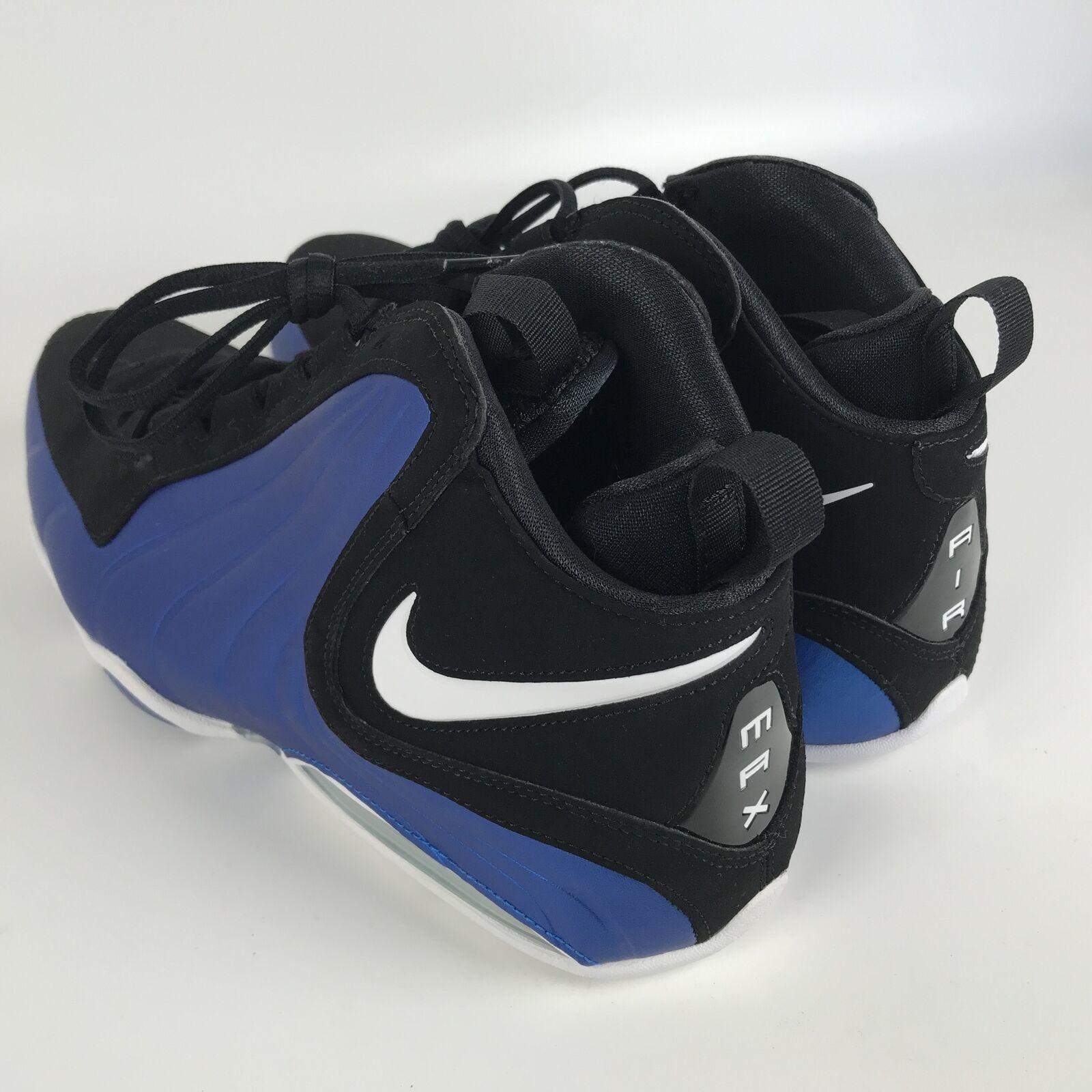 Nike Air Max WAVY Men's size 11 Basketball Shoes Penny Blue Black AV8061 002 image 4