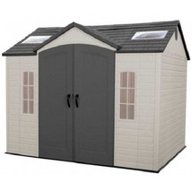 Lifetime 10x8 ft Garden Storage Shed Kit (60005) - $1,393.33