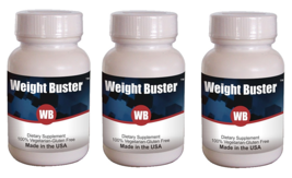 Weight Buster Anti Obesity & Weight Loss Protocol 3 Bottles- (Capsule 60X3) - $65.29