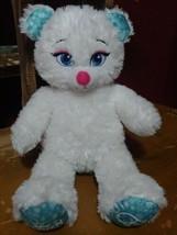 Disney Frozen Elsa Build A Bear White Sparkke Plush  - $9.11