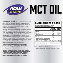 NOW Sports Nutrition, MCT (Medium-chain triglycerides)Oil 14 g, Weight - $60.34