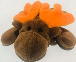 Chocolate The Moose 1993 Retired TY Beanie Babies - $17.81