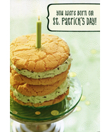You were born on St. Patrick's Day! Birthday Card - $2.00