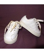 Sneakers Tennis Shoes White Toddler Size 6 Girls Laces - $10.56