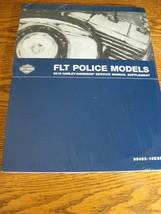 2010 Harley-Davidson FLT Police Road King Electra Glide Service Manual Supplmnt. - $84.15