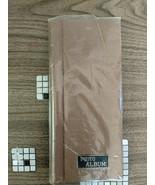 Brown Photo Album Brown Fabric Slip In Album Photo Albums Original Packaging New - $44.55
