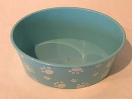 American Girl Doll Pet Bath Bathtub Accessory Dog Cat Blue Paw Prints - $7.99