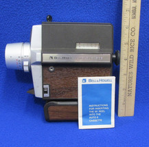 Vintage Bell & Howell Super Eight Movie Camera Autoload 308 For Parts - $12.22