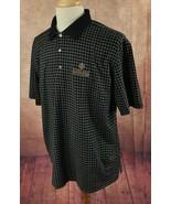 Bobby Jones Golf Polo Kierland Golf Club 100% Cotton Black Check Shirt M... - $24.74