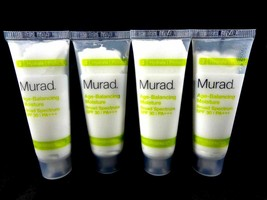Murad Age Balancing Moisture Broad Spectrum Spf 30 I Pa+++ 2.4 Oz Total 4x 0.6 - $6.33