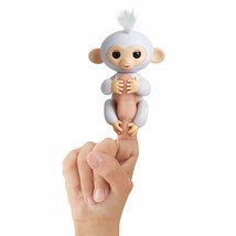 Fingerlings Glitter Monkey - Sugar (White Glitter) - Interactive Baby Pe... - $24.99